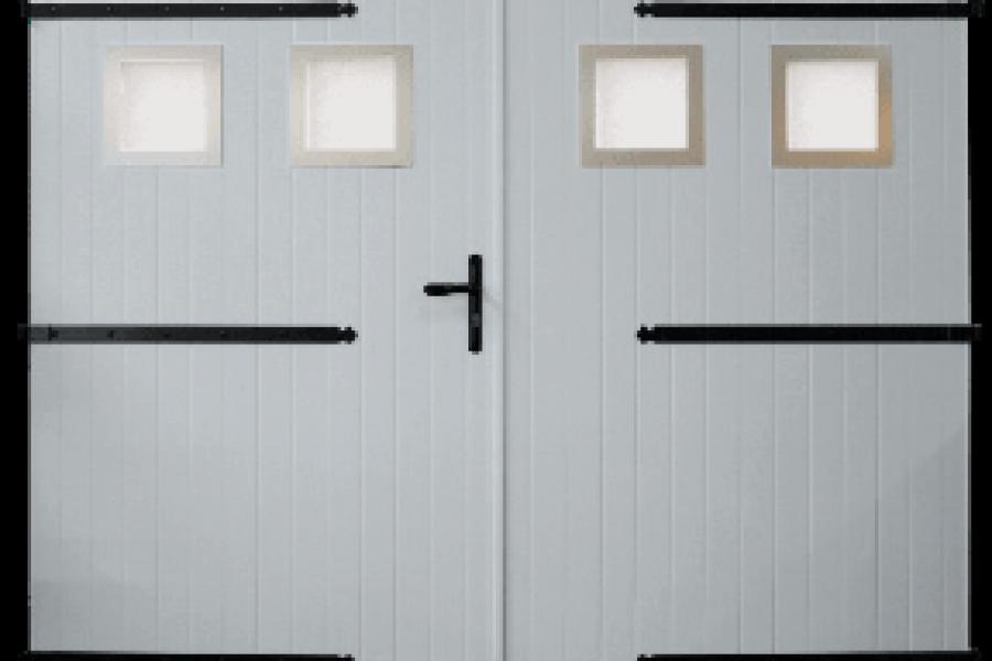 Menuiserie extérieure et fermeture : porte de garage